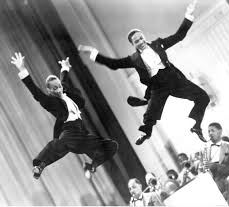 "Fayard Nicholas 1914-2006 and Harold Nicholas 1921-2000 Better known as the Nicholas Brothers. Wowed people with their ""flash dancing"" and highly energetic tap dance productions, said to be the greatest tap dancers of their day, famous for ""Jumpin' Jive (with the Cab Calloway Orchestra) and the film Stormy Weather"